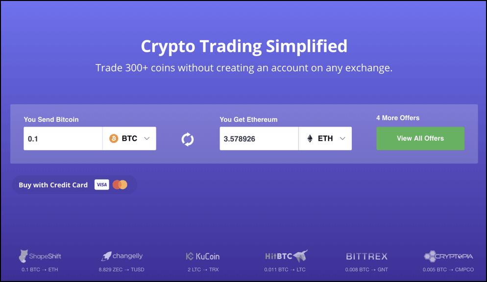 5 Shapeshift io Alternatives To Trade Cryptos Without