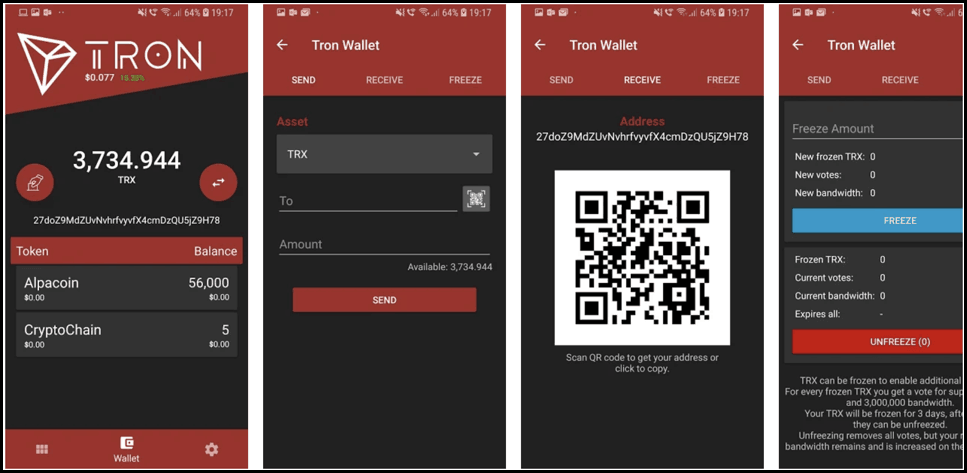 Best Tron(TRX) Wallets To Secure Tron Crypto In 2019