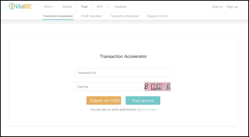 accelerator bitcoin