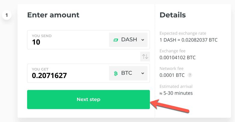 valutele valutare în valută tranzacționează dashcoin pentru bitcoin
