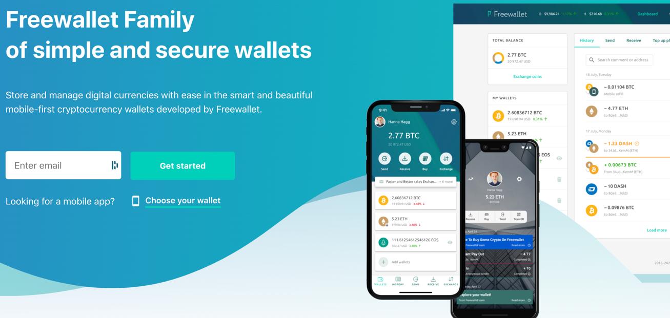 crypto wallet free